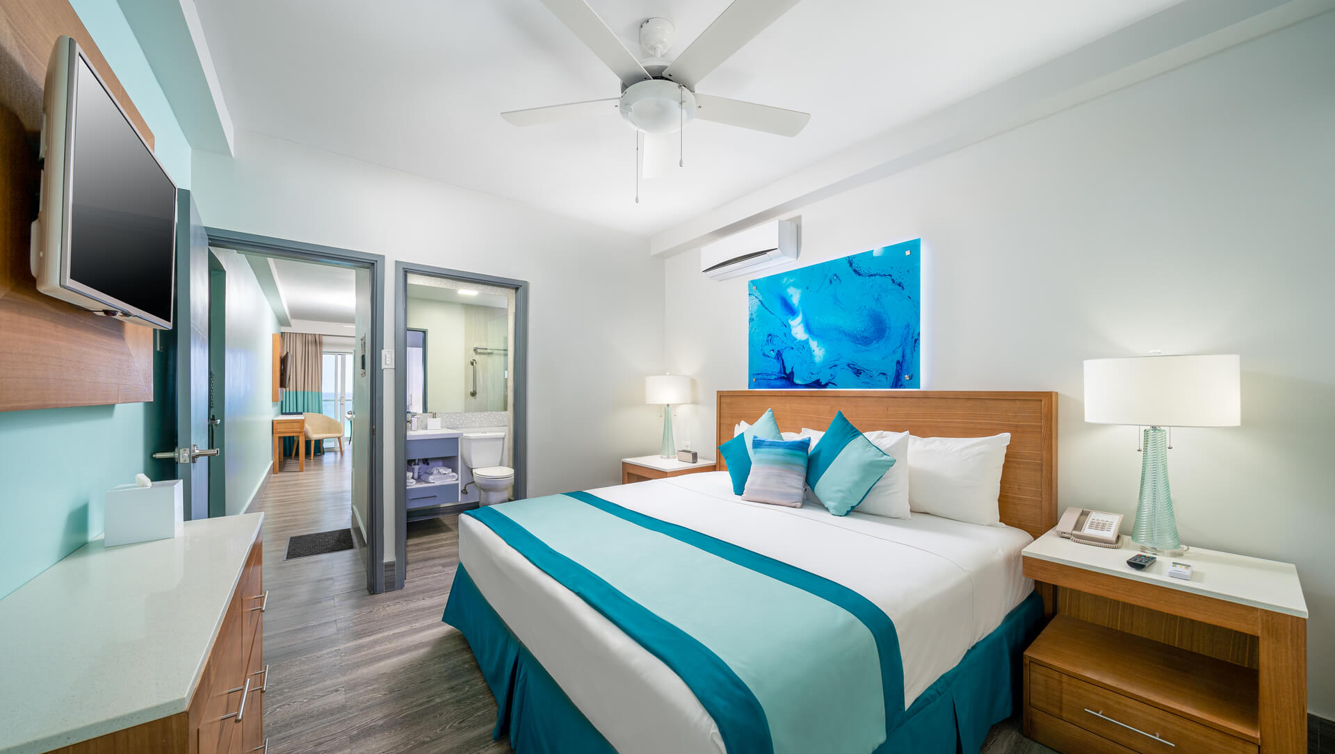 Rent one Bedroom Suite - Hotel South Gap with Ocean View